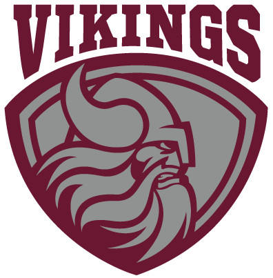 District145Logo_VikingsMaroonSilver